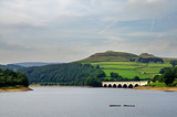 View of Ladybower Reservoir, Derbyshire