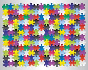 puzzle multicolors