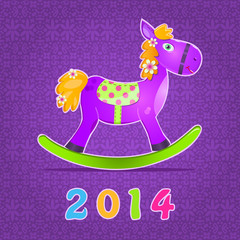 Horse Symbol of 2014 New Year