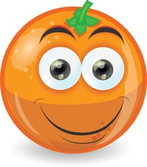 Мультфильм милые оранжевые