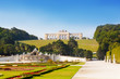 View on Gloriette in Schonbrunn Palace, Vienna