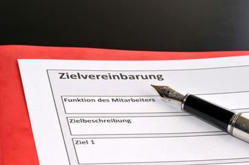 Zielvereinbarung, variables Gehalt, Zielerrreichung, Einkommen