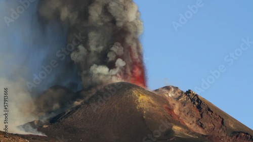 26 october 2013 Eruption etna