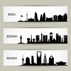 Skylines banners