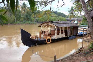 Kerala backwaters. Kerala, India