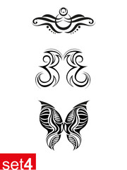 Decorative Tribal tattoo