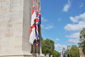 Cenotaph, Whitehall, London, UK