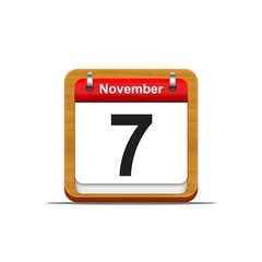 November 7.
