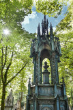 An 19th century antique cemetery in Warsaw. Poland.