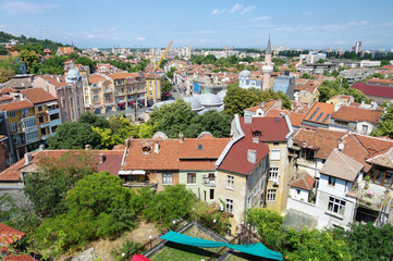 Plovdiv Downtown, Bulgaria