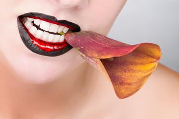 Sexy Lips mit Callas