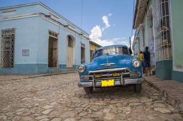 Cuba car in Trinidad