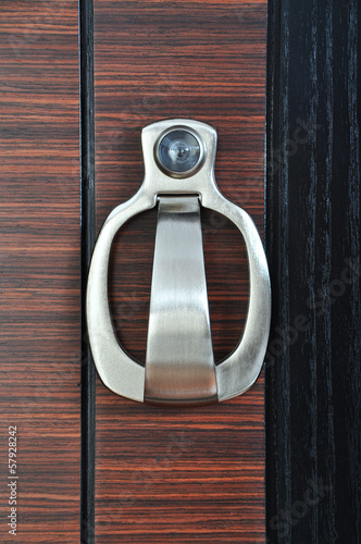 Door Knocker With Peep Hole
