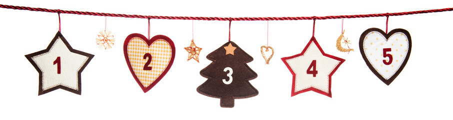1-5, part of Advent calendar