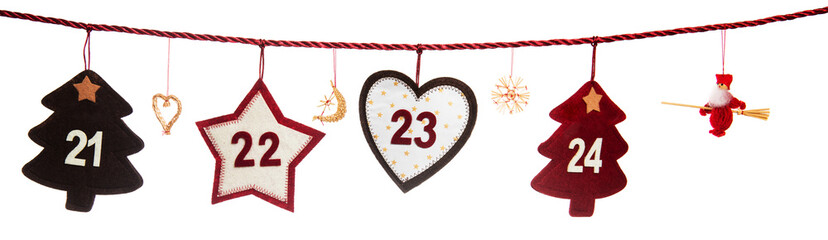 21-24, part of Advent calendar