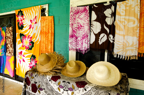 Tropical Souvenir Shop in Aitutaki Cook Islands