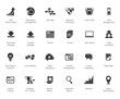 SEO and Development icon set2, black series