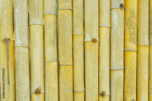 Rough bamboo wall texture background
