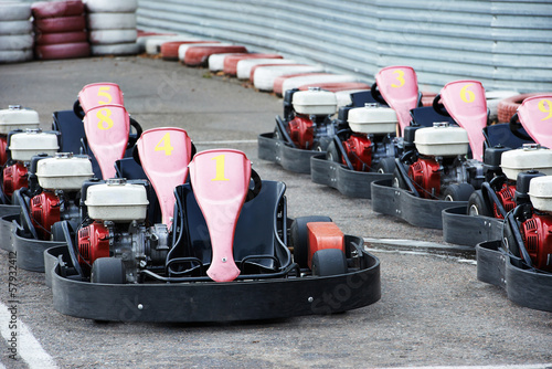 Machine karting