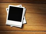 Fototapety polaroid style photo frame