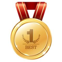 GII0176_01 Gold medal