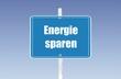 panneau energie sparen