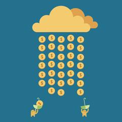 Money Rain. Time to Rich.