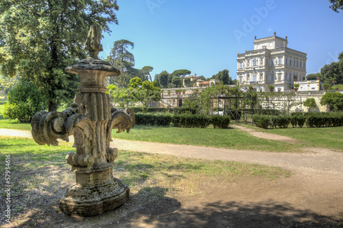Villa Pamphili in Rome, Italy