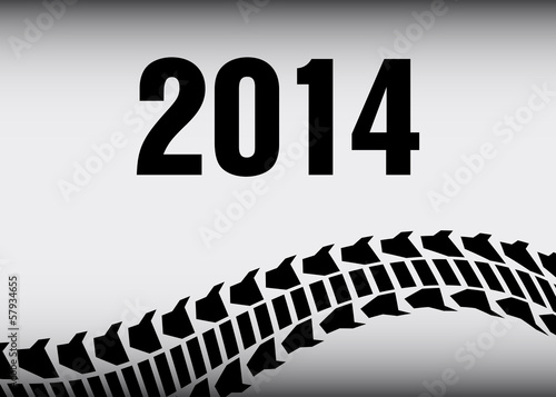 tire track 2014 background