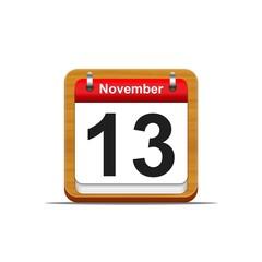 November 13.