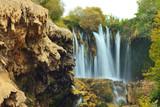 Amazing view of Yerkopru waterfall, near Konya poster