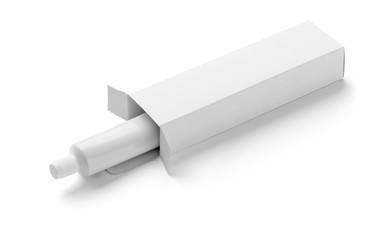 white tube cream toothpaste