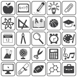 Basic Education Icons Vector Set