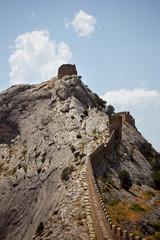 Стена Генуэзской крепости, Судак,