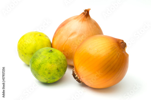 Lemon and onion