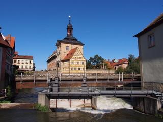 Town hall on the bridge - Bamberg, Germany