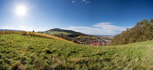 panorama of freiburg