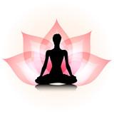 Fototapety Yoga-lotus
