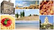 wonderful italy, collage