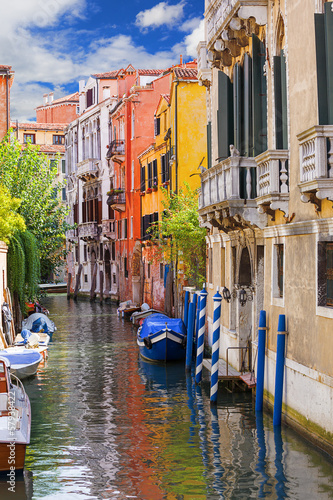 Fototapeta architektury w Wenecji. Włochy.