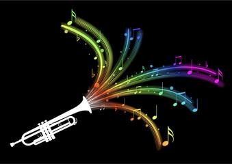 Trompette - explosion de notes multijet