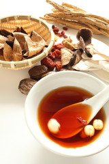 chinese medicine soup for healthy image