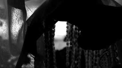 Agoraphobia or depression conceptual clip.