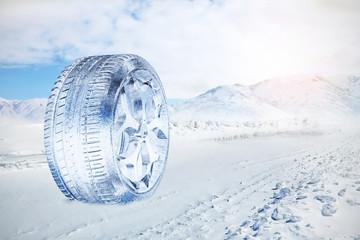 Snow Ice Tire 3D concept