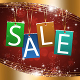 Christmas Sales Background