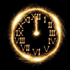 Sparking Clock
