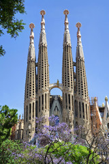 Sagrada Familia. Barcelona, Spain.