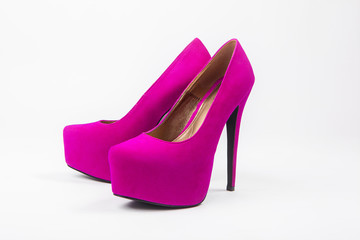 violet woman luxury shoes, high heels