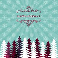 クリスマス バックグラウンド Winter Holiday Background