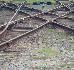 Railway texture background